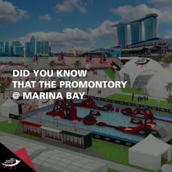 [DBS Bank] Did you know that The Promontory @ Marina Bay is roughly the size of 1.