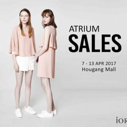 [IORA] Up to 70% off @ Hougang Mall now!