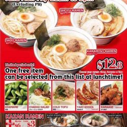 [Tonkotsu Kazan] Super worth it Lunch Deals only at our Liang Court store!