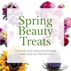 [Clarins] This is not an April Fools joke, Spring Beauty Treats is now live on Clarins.
