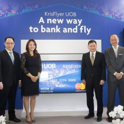[UOB Bank] Executives from UOB and Singapore Airlines Group launched the KrisFlyer UOB Account, a current account with an exclusive KrisFlyer UOB