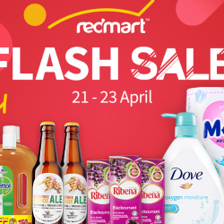 [Lazada Singapore] The RedMart Flash Sale you don't want to miss: Up to 60% savings storewide.