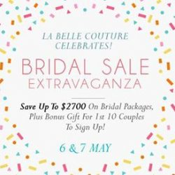 [LA BELLE] CALLING ALL SOON-TO-WEDS!
