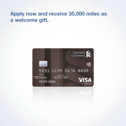 [Standard Chartered Bank] A world of infinite possibilities awaits you with our Visa Infinite Credit Card.