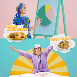 [McDonald's Singapore] Which is your lifesaver: Hotcakes for breakfast in bed?