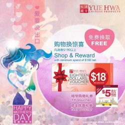 [Yue Hwa] Mother's Day is about showing your appreciation and love!