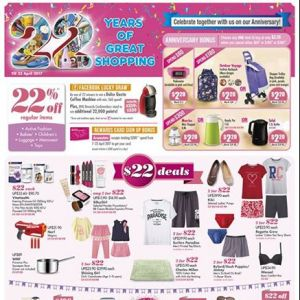 [BHG Singapore] Here's what we have in-store for our 22nd Anniversary!