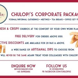 [CHULOP!] We have special discounts for our corporate clients!