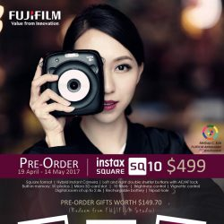 [FotoHub] Fujifilm Instax SQUARE SQ10 Pre-Order now at $499 (includes $149.