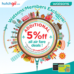 [Watsons Singapore] Calling all travel enthusiasts!
