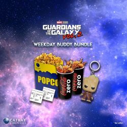 [Cathay Cineplexes] Fancy a Groot Keychain?
