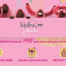 [Kipling] Be a Kipling Friend for FREE and enjoy exclusive member privileges: 💰$30 off Welcome Offer & FREE gift worth $30* 🎁 Receive