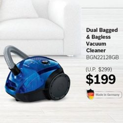 [Best Denki] Get a dual bagged and bagless vacuum cleaner at only $199 (U.