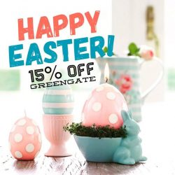 [Shabby Chic] Get 15% off all GreenGate items when you flash this post at our Pasarbella and plazasingapura outlets!