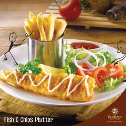 [OLDTOWN White Coffee Singapore] DidYouKnow: Fish and Chips may be a popular dish today, but back in the 17th century, chips were served as