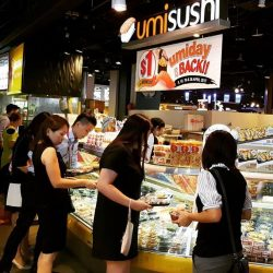 [UMISUSHI Singapore] umiday Lunch time never seems to be over today, because it is umiday!