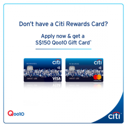 [Citibank ATM] Treat yourself to Qoo10 shopping perks!