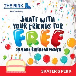 [THE RINK] It's your birthday month?