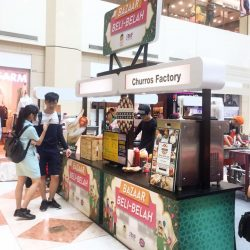 [Churros Factory Singapore] Come get your Churros and Chendol Softserve at @westmallsg only for this week!
