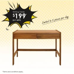 [Scanteak] The pen is mightier than the sword— and even more so with the perfect writing table!