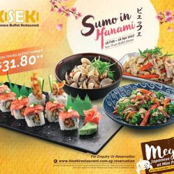 [Kiseki Japanese Buffet Restaurant] A mega spread of Japanese delicacies and all-time favourite buffet destination for everyone of all ages.