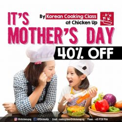 [CHICKEN UP] IT'S MOTHER'S DAY❤‍❤‍Make mommy's day special by Cooking with UsWhat better way to spend Mother'