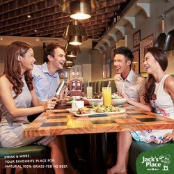 [Jack's Place] Unwind and bond with colleagues over a delicious meal to foster a happier working relationship.