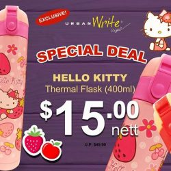 [URBANWRITE] Check out SPECIAL DEALS on our exclusive Hello Kitty Thermal Flask!