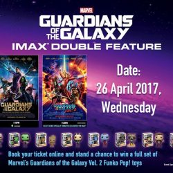 [Shaw Theatres] IMAX movie marathon for Marvel's Guardians of the Galaxy?