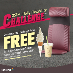 [OSIM] Think you have enough flexibility in your neck, shoulders and back?