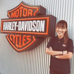 [Harley-Davidson] Welcome to the team Emmy.