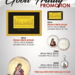 [The Singapore Mint] Good Friday Promotion from now till 16th April 2017!