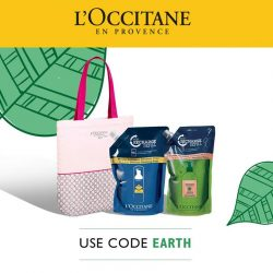 [L'Occitane] Did you know that L'OCCITANE offers a selection of your favourite products in an economically-friendly refill format!