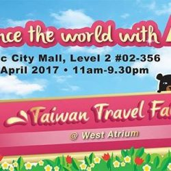 [ASA Holidays] Come on down this weekend to the Taiwan Travel Fair and experience the world with ASA holidays!