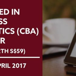 [New Horizon Centre] Certified in Business Analytics (CBA) Seminar in LESS THAN A WEEK!