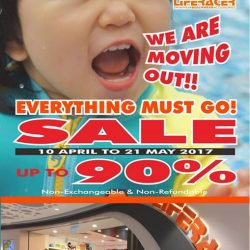 [Liferacer] Liferacer MOVING OUT SALE @Eastpoint Mall 03-24!