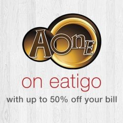 [A-One Claypot House] Find us on Eatigo now!