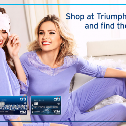 [Citibank ATM] Discover the new Triumph Spring 2017 collection and get 20% off on regular priced items.