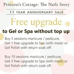 [Princess's Cottage: The Nails Story] An offer not to be missed!