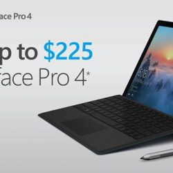 [Harvey Norman] Save up to$225 on Surface Pro 4 at HarveyNormanSG, now till 1 May 2017.