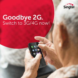 [Singtel] Singapore's 2G network has ceased operations and you are not able to make/receive calls and SMS or access