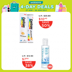 [Watsons Singapore] BUY NOW AND SAVE MORE WITH WATSONS!