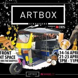 [DBS Bank] Heading down to Artbox Singapore?