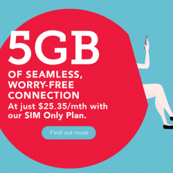 [Singtel] For a limited time only, get additional 2GB local data on our SIM Only Plan at only $25.