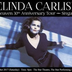 [SISTIC Singapore] Tickets for Belinda Carlisle The Heaven 30th Anniversary Tour - Singapore goes on sale on 14 April 2017.
