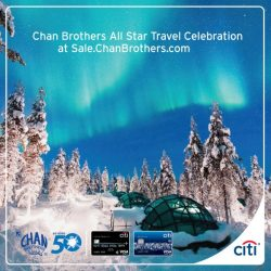 [Citibank ATM] Enjoy Citi Card Exclusives at Chan Brothers All Star Travel Celebration on 22 & 23 Apr (Sat & Sun) 11 am - 9