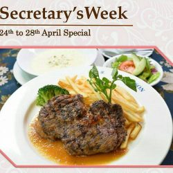 [Ma Maison Restaurant Singapore] 24th - 28th April Secretary Week Special LunchWant to Pamper your secretary?
