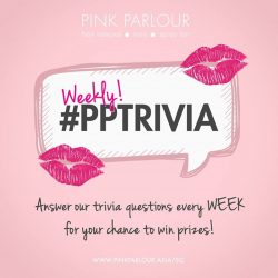 [Pink Parlour] Our weekly trivia is back!