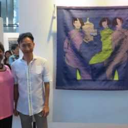 [Breast Cancer Foundation] Members of BCF, as well as some friends, were treated to a private tour of the Women Shoes Freedom exhibition