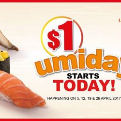[UMISUSHI Singapore] The wait is OVER, umiday STARTS TODAY!
